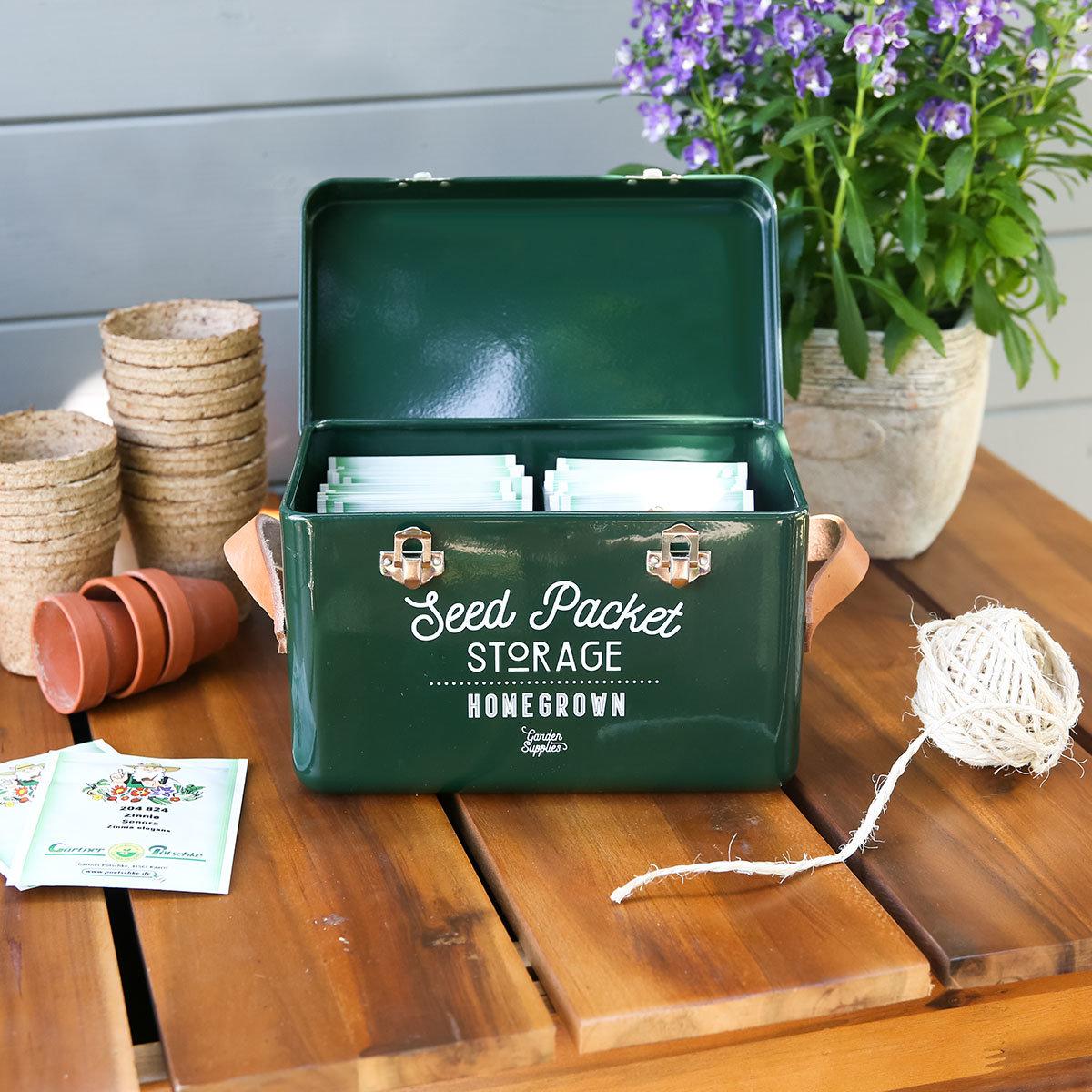 Burgon & Ball Saatgut-Aufbewahrungsbox