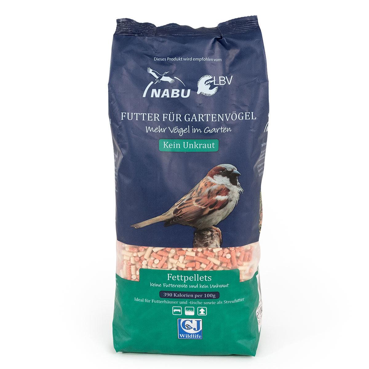Vogelfutter-Fettpellets, 1,75 kg