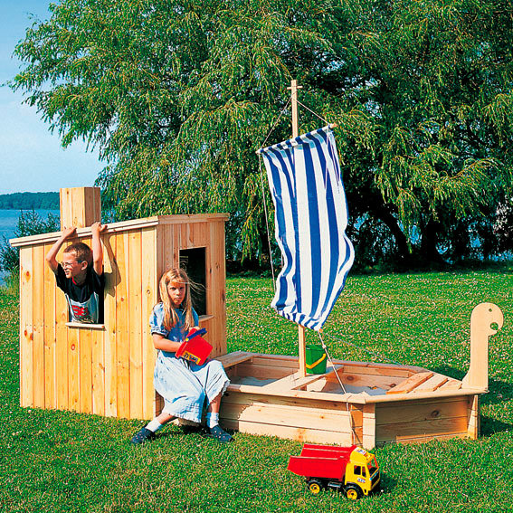 set sandkasten st rtebeker mit kaj te online kaufen bei g rtner p tschke. Black Bedroom Furniture Sets. Home Design Ideas