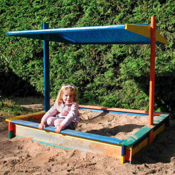 Sandkasten Nadine mit Sonnensegel
