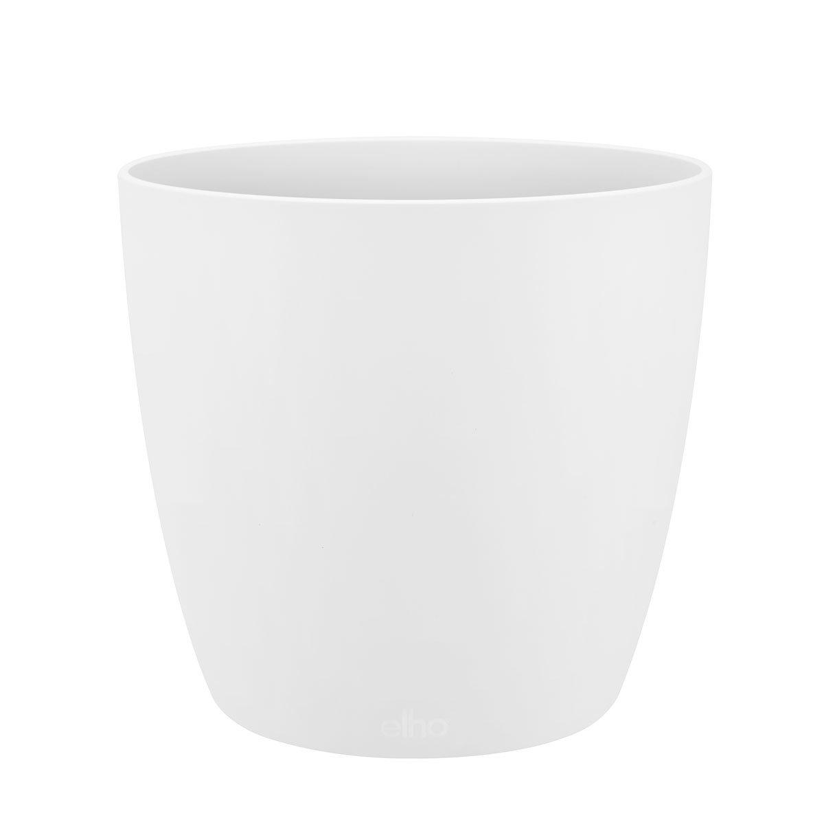 ELHO Design-Pflanztopf Brüssel, weiß  18x18x16 cm matt