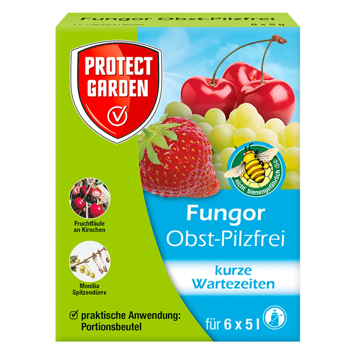Protect Garden Fungor Obst-Pilzfrei, 6 x 5 g Beutel
