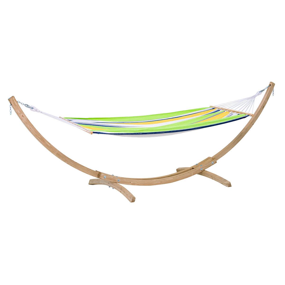 Hängematte Paradies Kolibri mit Gestell, 310x80 cm