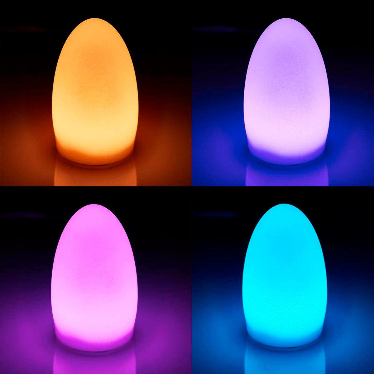 LED Dekoleuchte Solay, USB, RGB-Farbwechsel