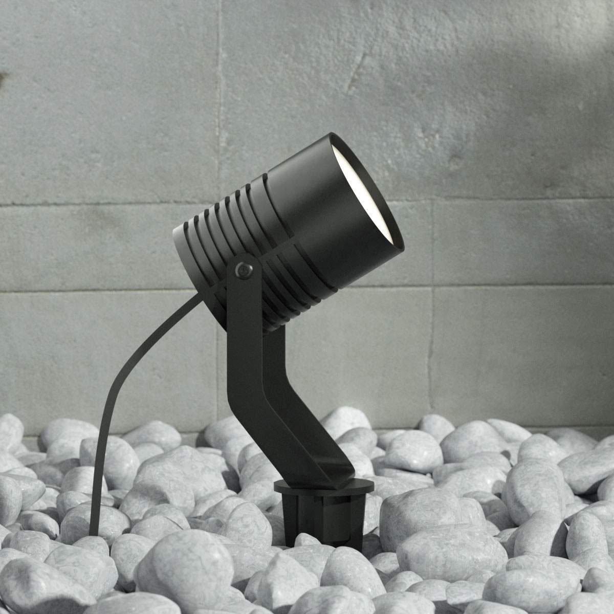 LED-Außenstrahler Maris m. Erdspieß