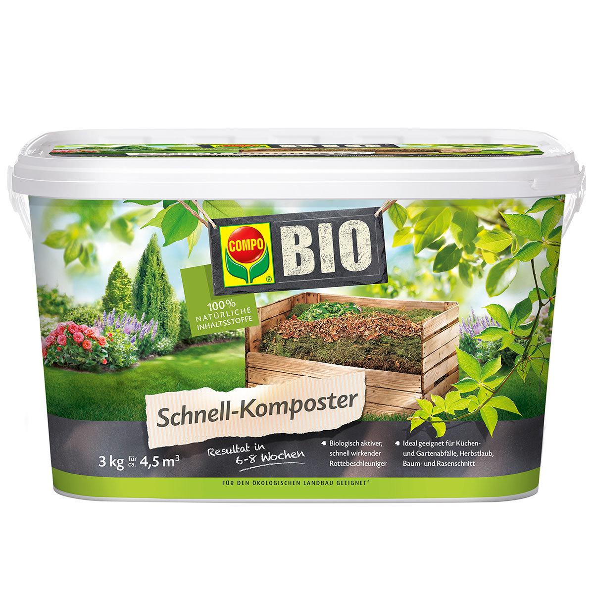 BIO Schnell-Komposter, 3 kg