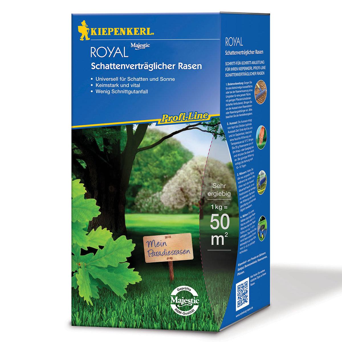ProfiLine Royal Schattenverträglicher Rasen, 1 kg