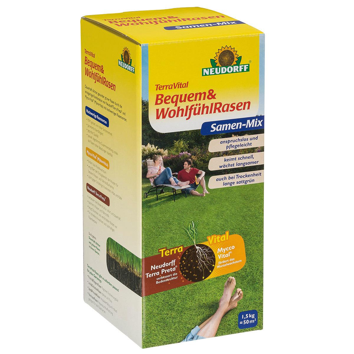 TerraVital® Bequem&WohlfühlRasen, 1,5 kg