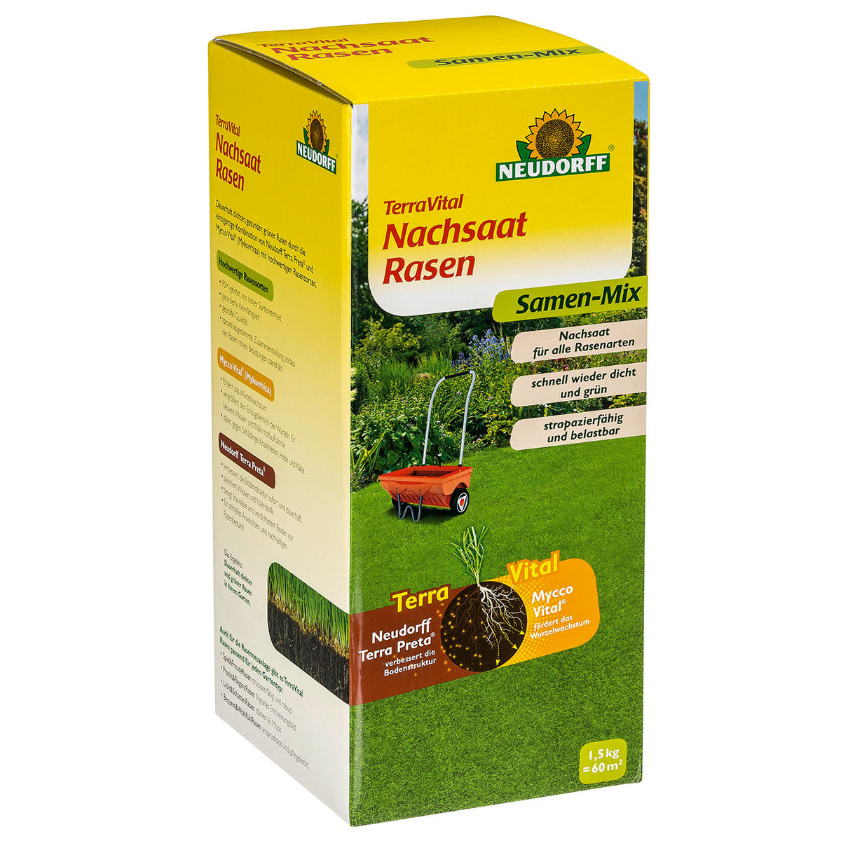 TerraVital® NachsaatRasen, 450 g