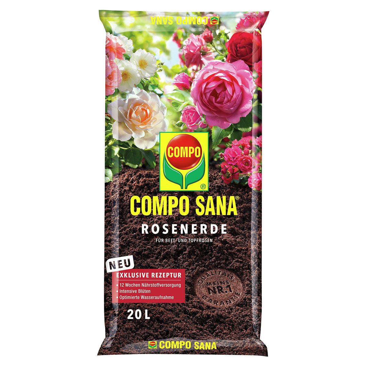 Compo Sana® Rosenerde, 20 Liter