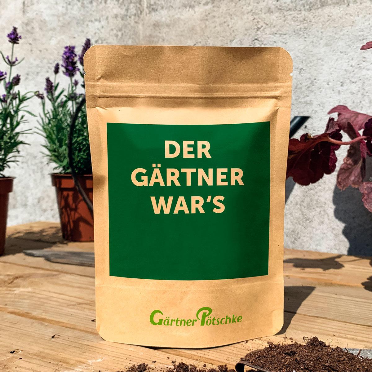 Der Gärtner wars - Kapuzinerkresse orange/gelb