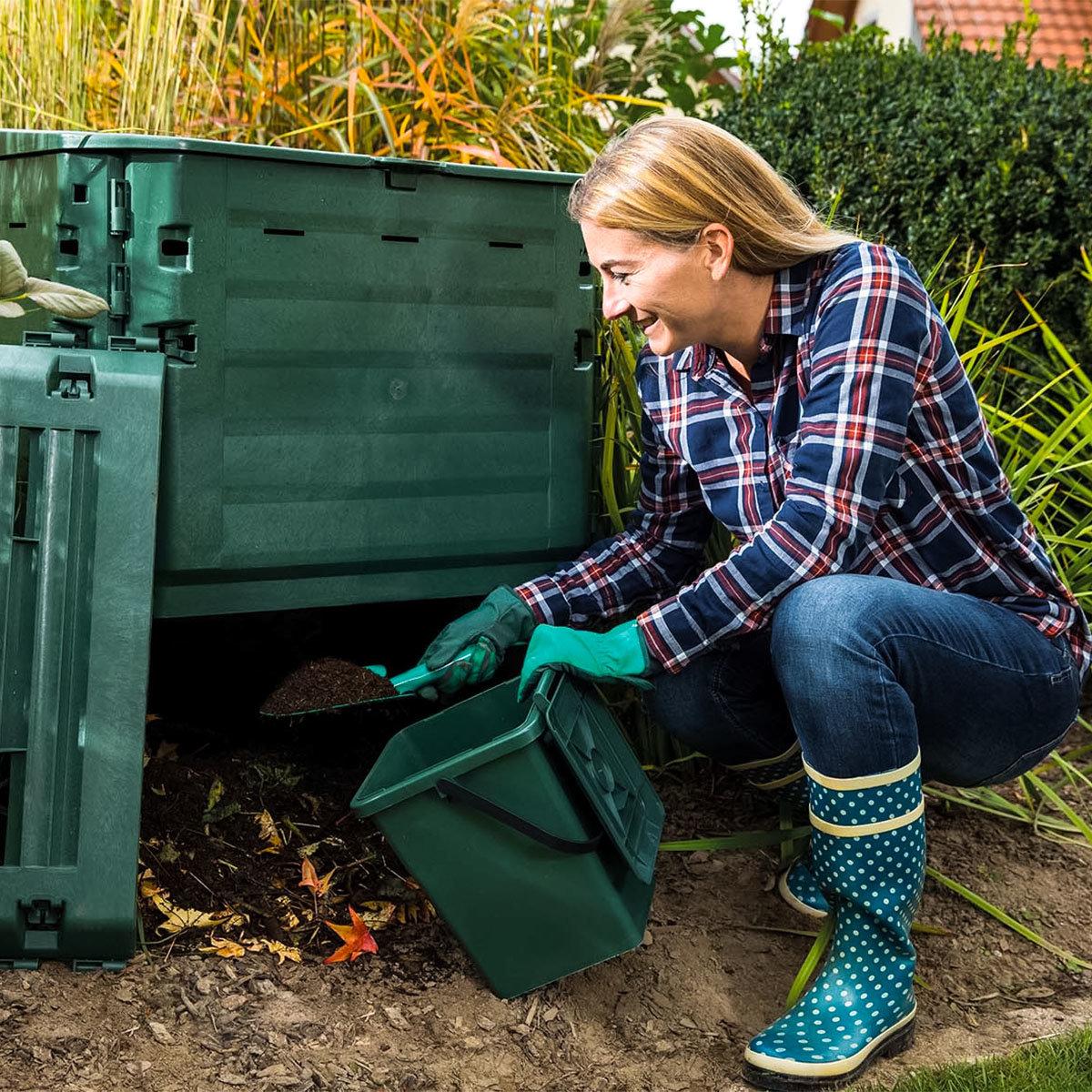 Komposter Thermo King, 900 l, grün