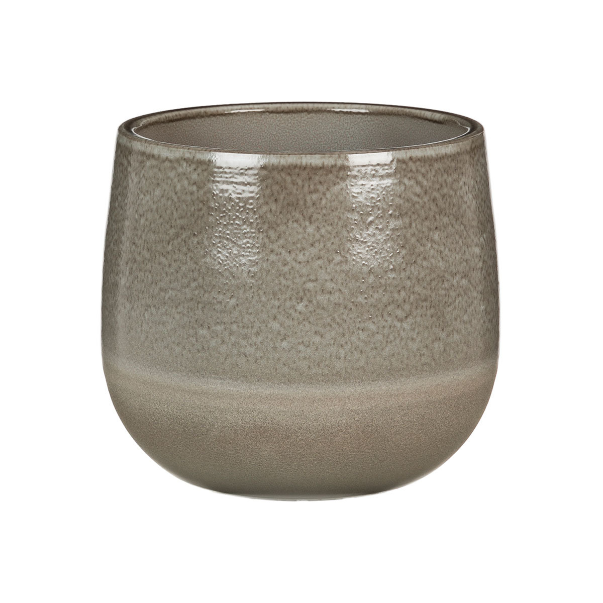 Übertopf Grey Allure, 15 cm, Grau