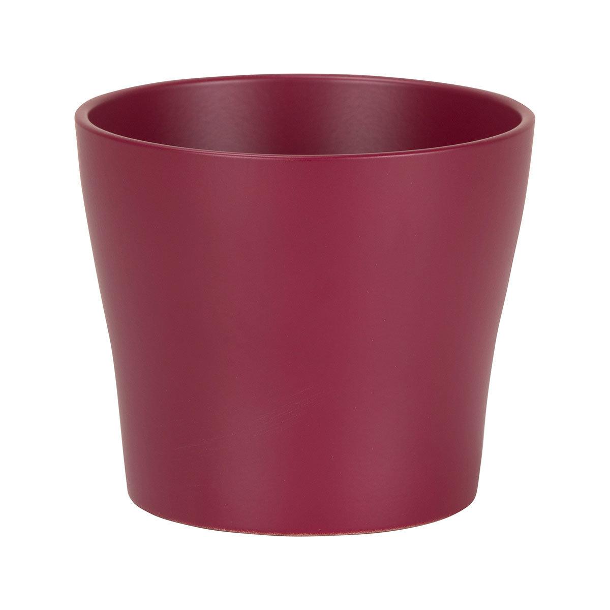 Übertopf Burgundy, 19 cm, Rot