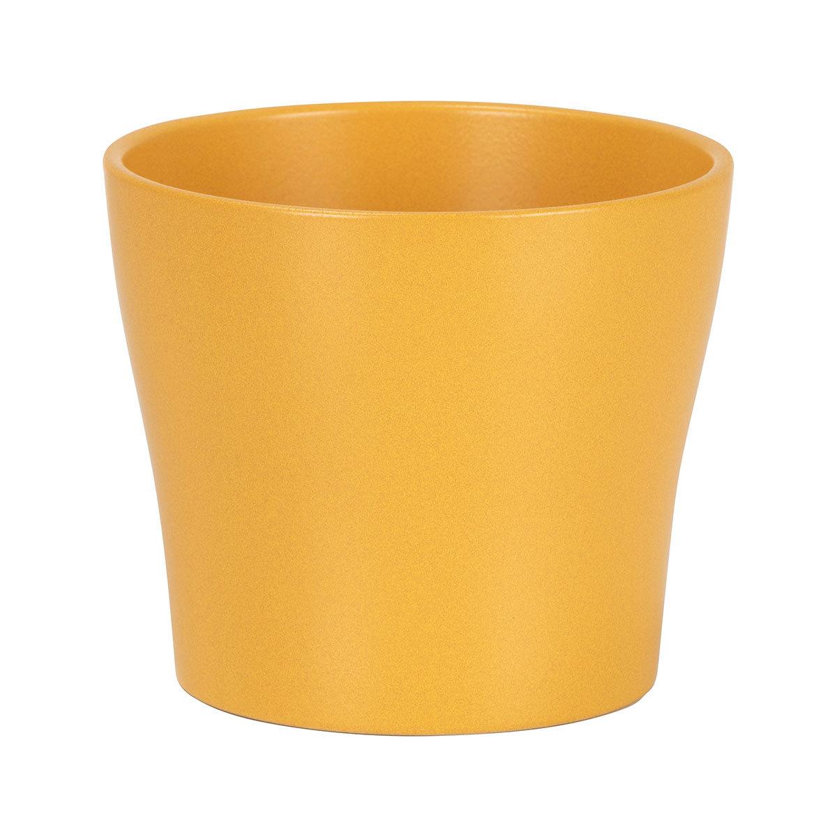 Übertopf Curcuma, 19 cm, Gelb