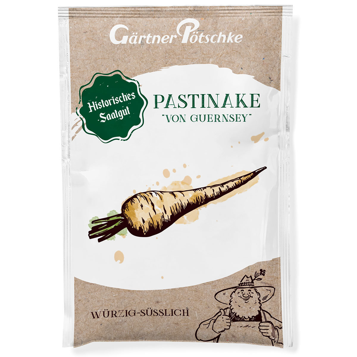Pastinakensamen Von Guernsey, halblange Weiße