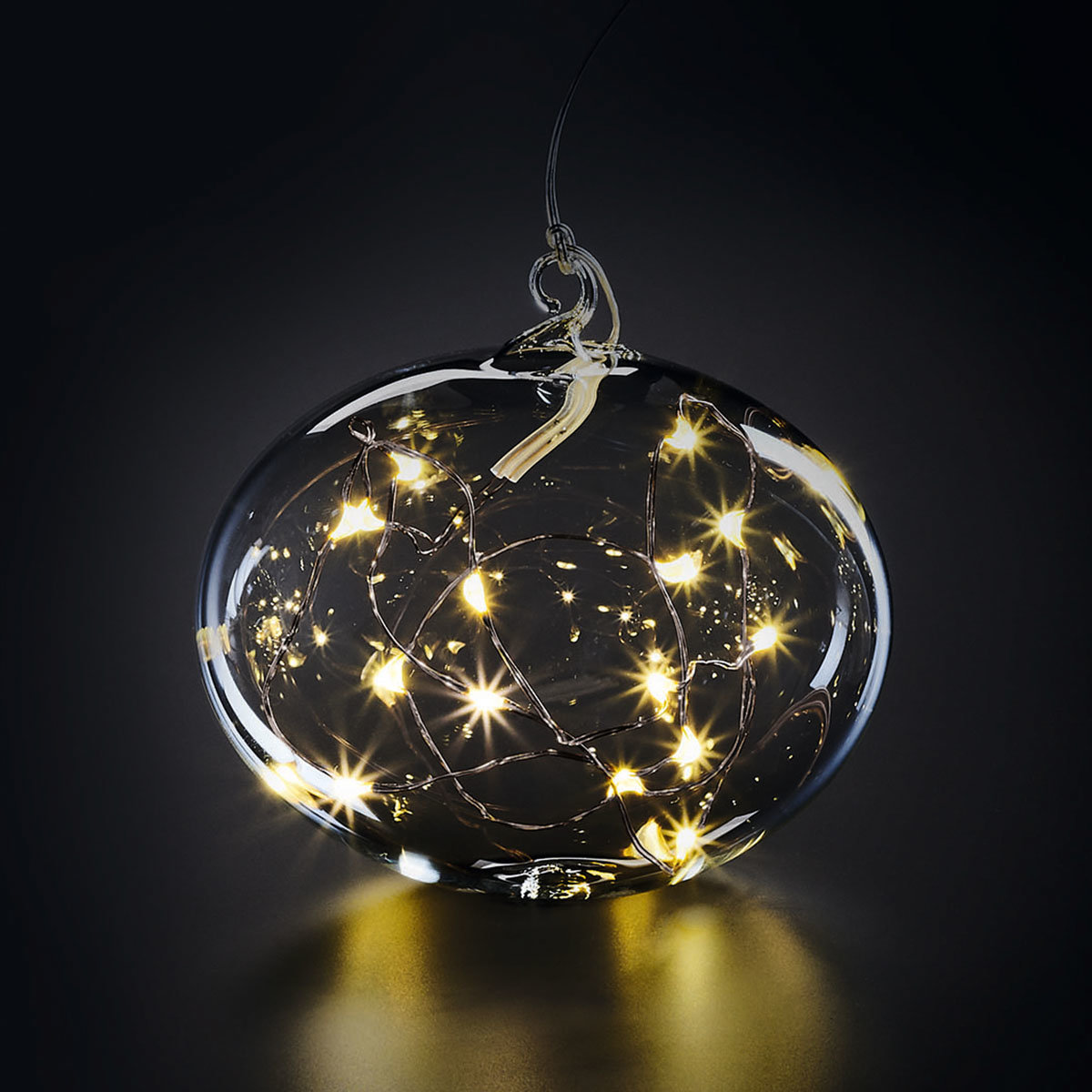 """LED Glaskugel """"Light Ball L"""", Glas, klar"""