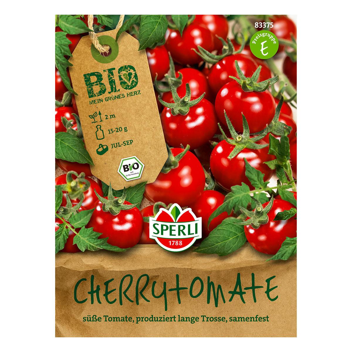 BIO Tomatensamen Zuckertraube