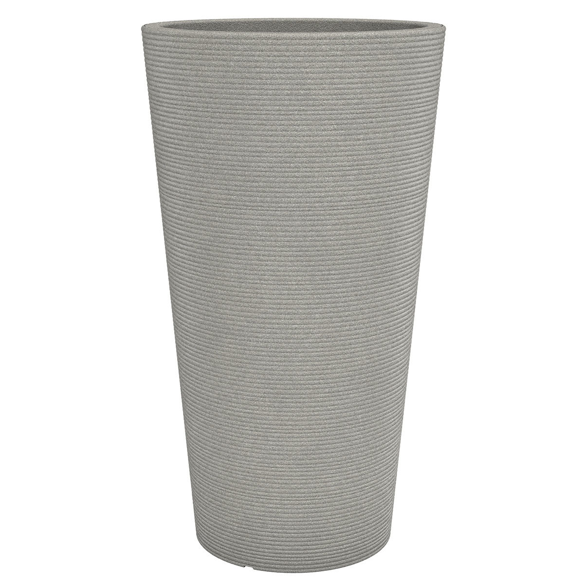 Pflanzkübel High Coneo, 40 x 70cm, Taupe