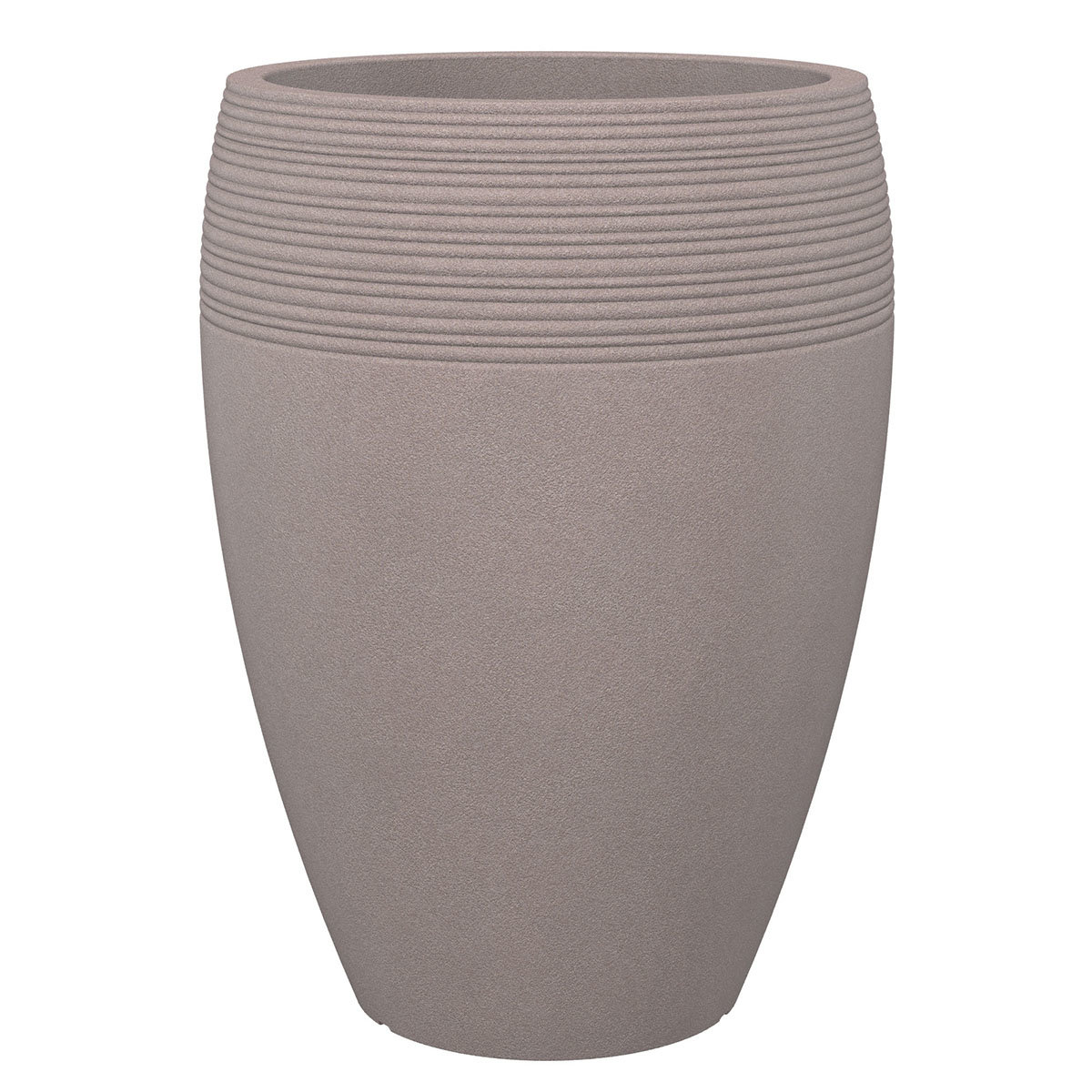 Pflanzkübel High Lineo, 65 cm, Taupe