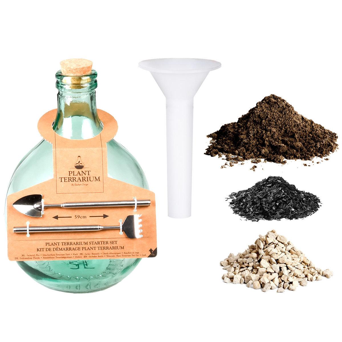 DIY Terrariumflasche Komplettset, 5 Liter
