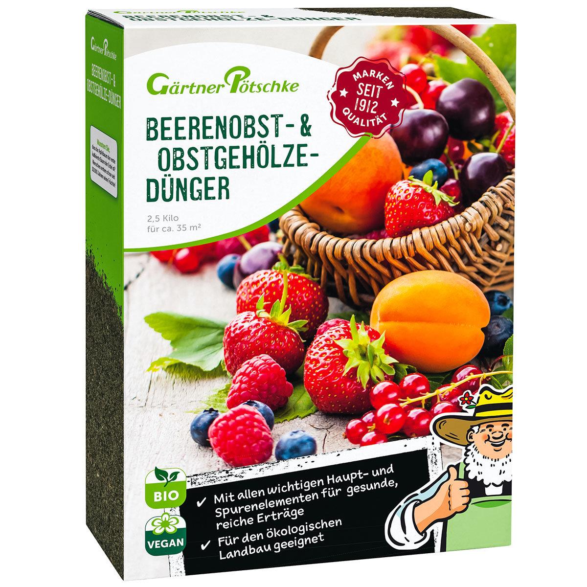 Beerenobst- und Obstgehölze-Dünger, 2,5 kg