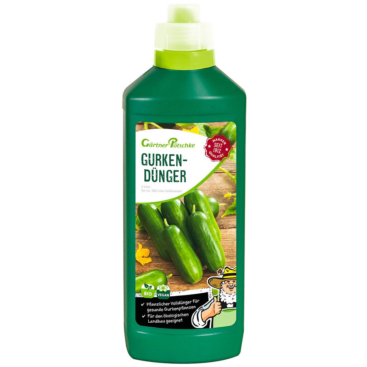 Gurken-Dünger flüssig, 1 l