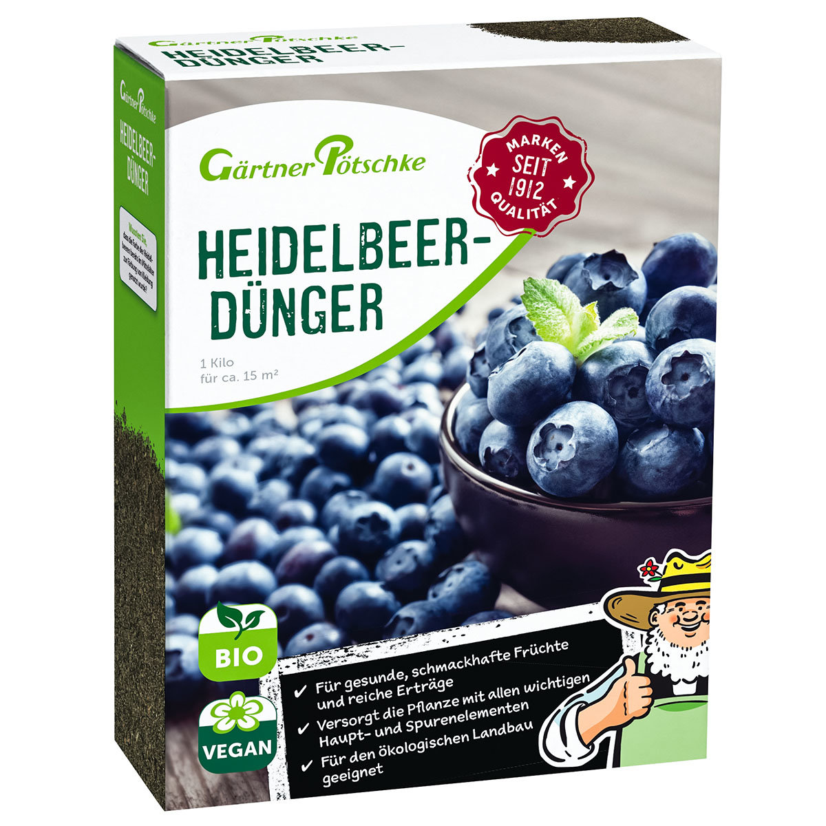 Heidelbeer-Dünger, 1 kg
