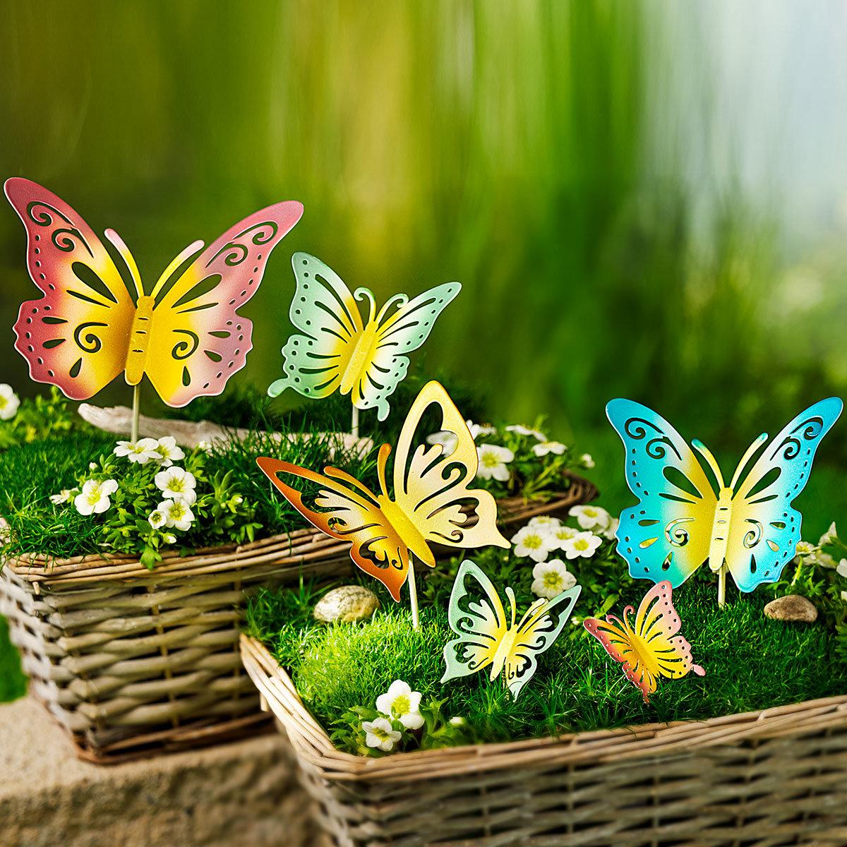 "Dekostecker ""Schmetterlinge"" 6er-Set"
