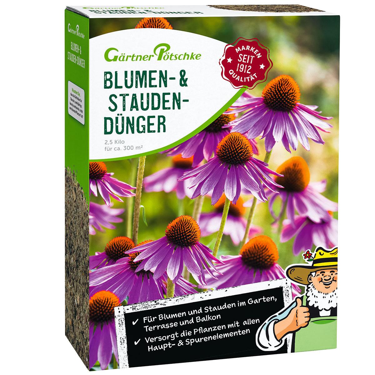 Blumen- und Stauden-Dünger, 2,5 kg
