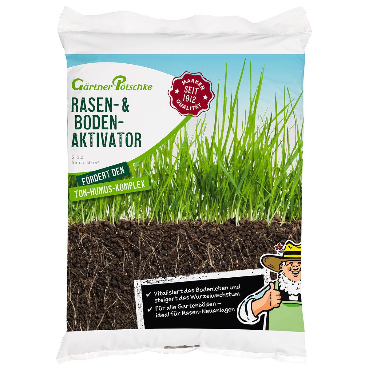 Rasen- und Bodenaktivator, 5 kg