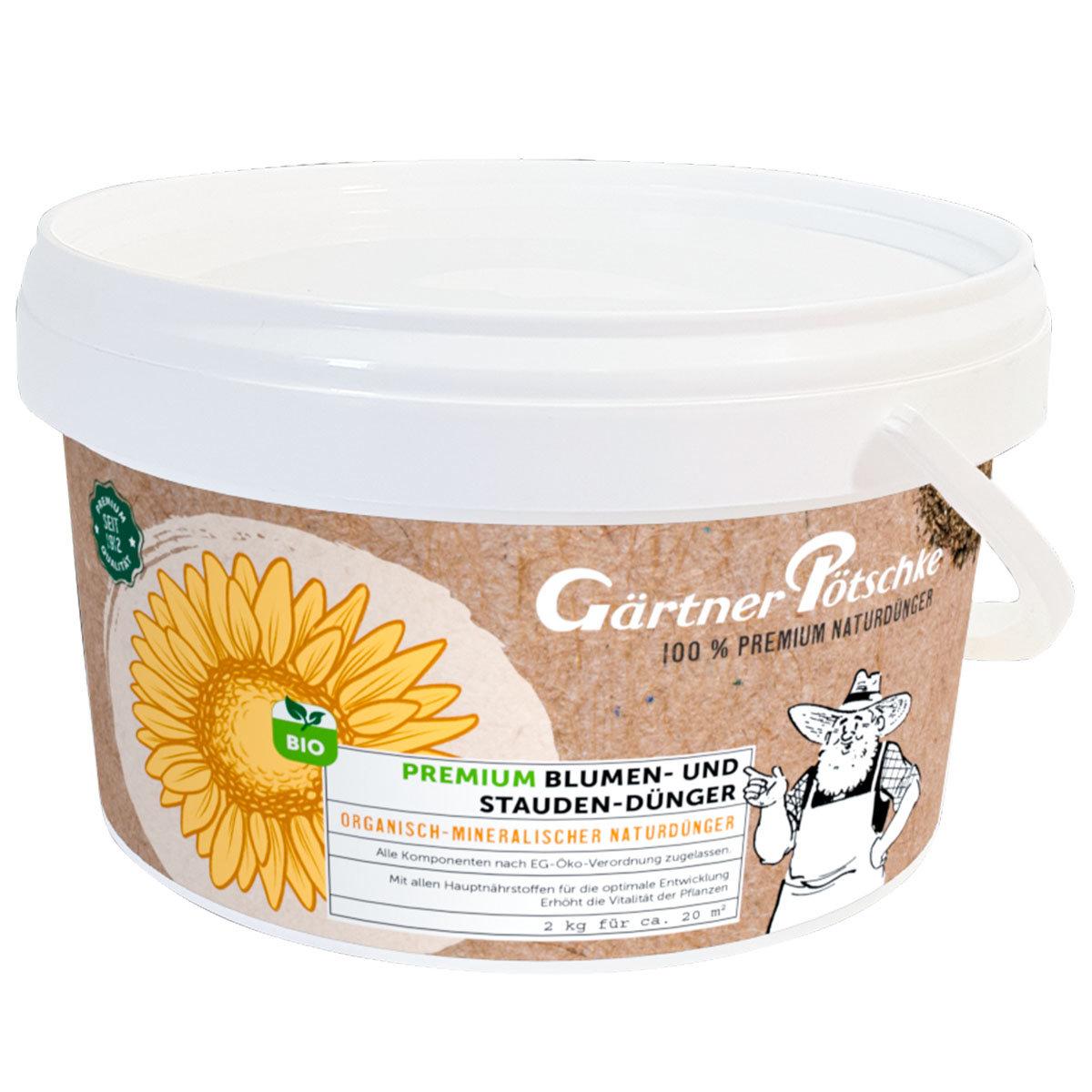Premium Blumen- und Stauden-Dünger, 2 kg