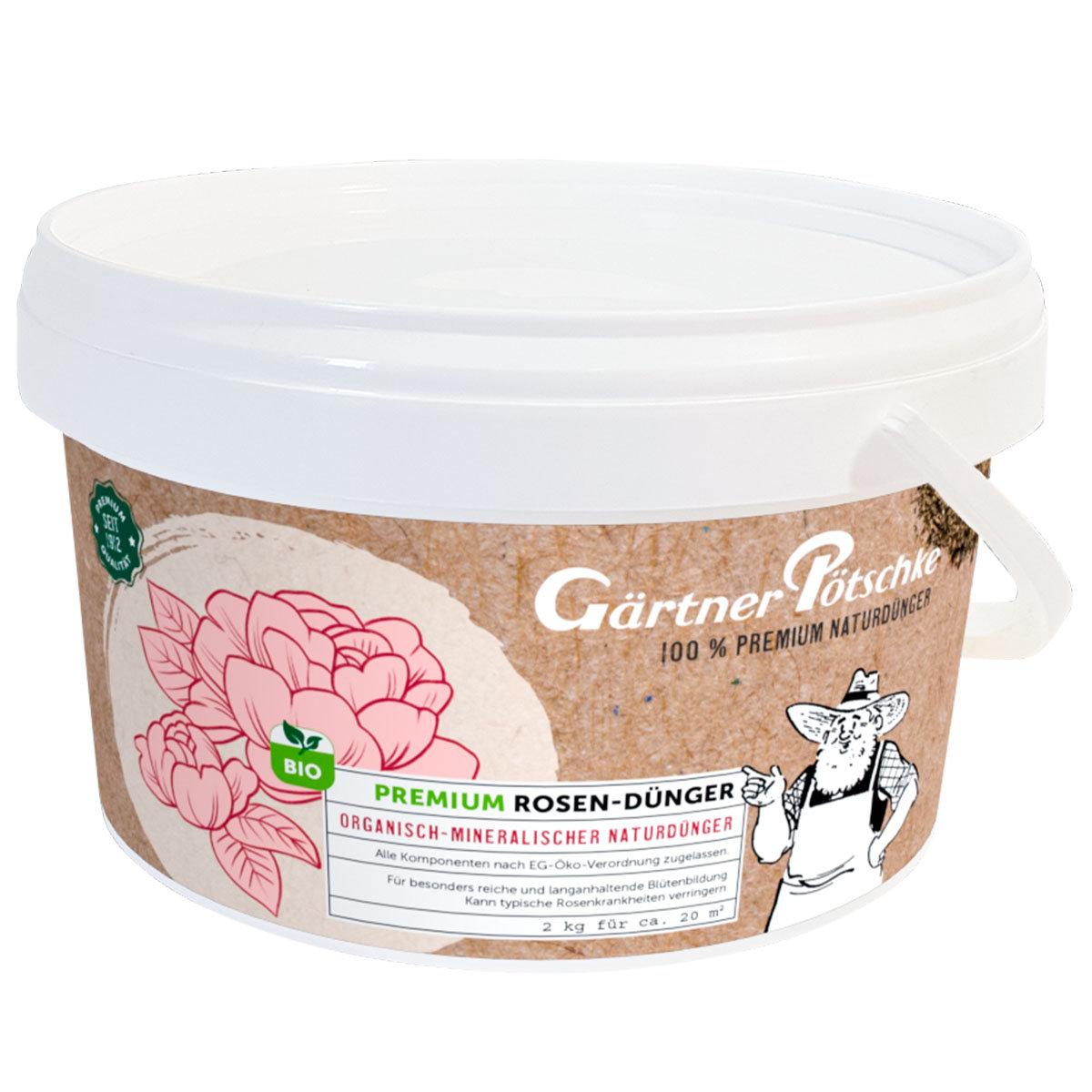 Premium Rosen-Dünger, 2 kg