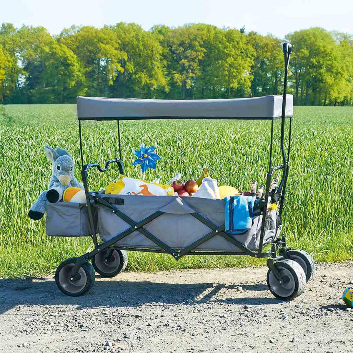 Klappbollerwagen Paxi mit Sonnendach