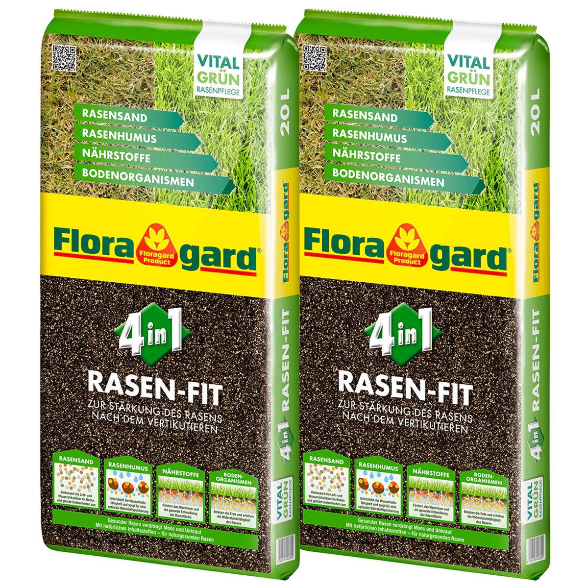 Rasenfit 4in1, 40 Liter