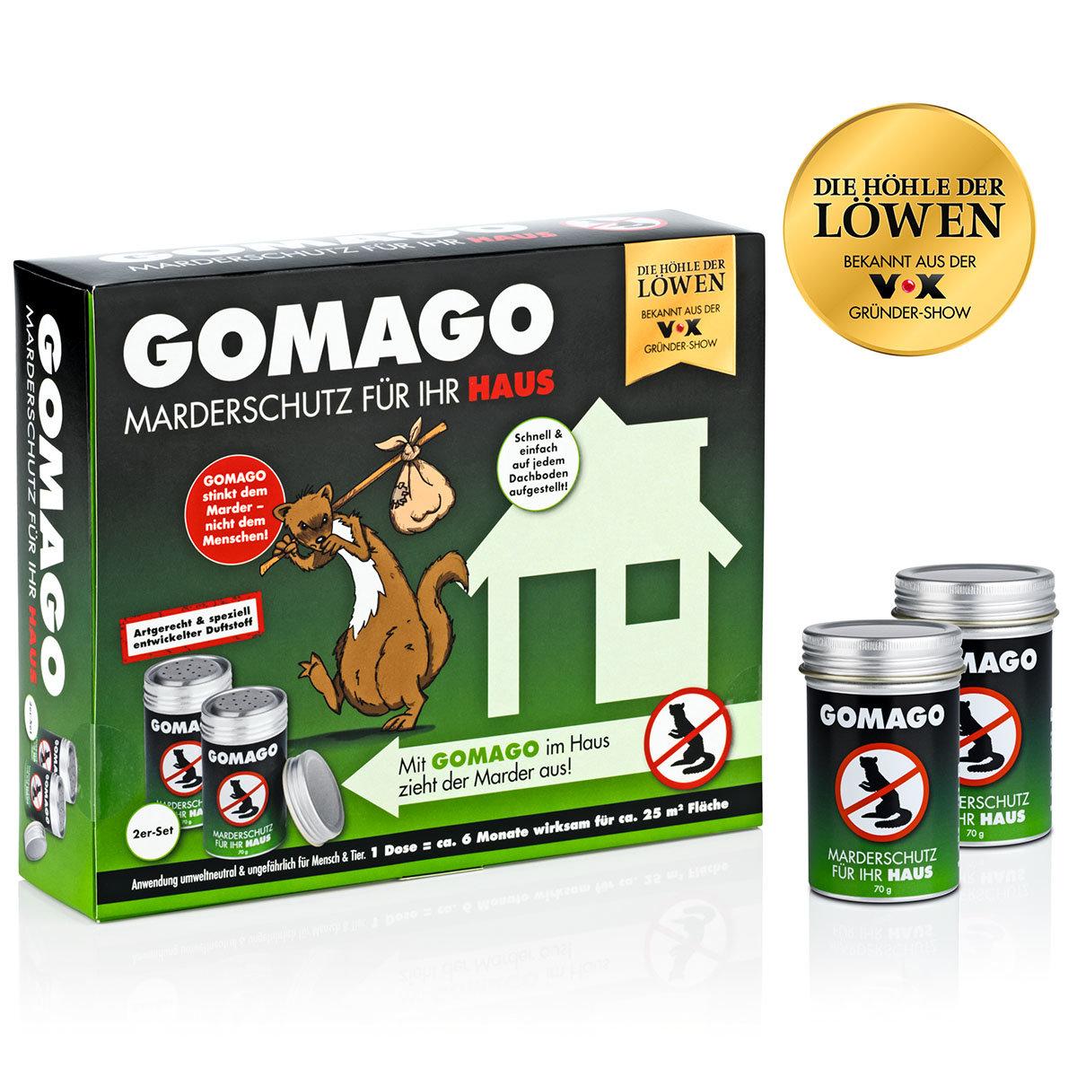 Marderschutz Gomago für Ihr Haus, 2er-Set