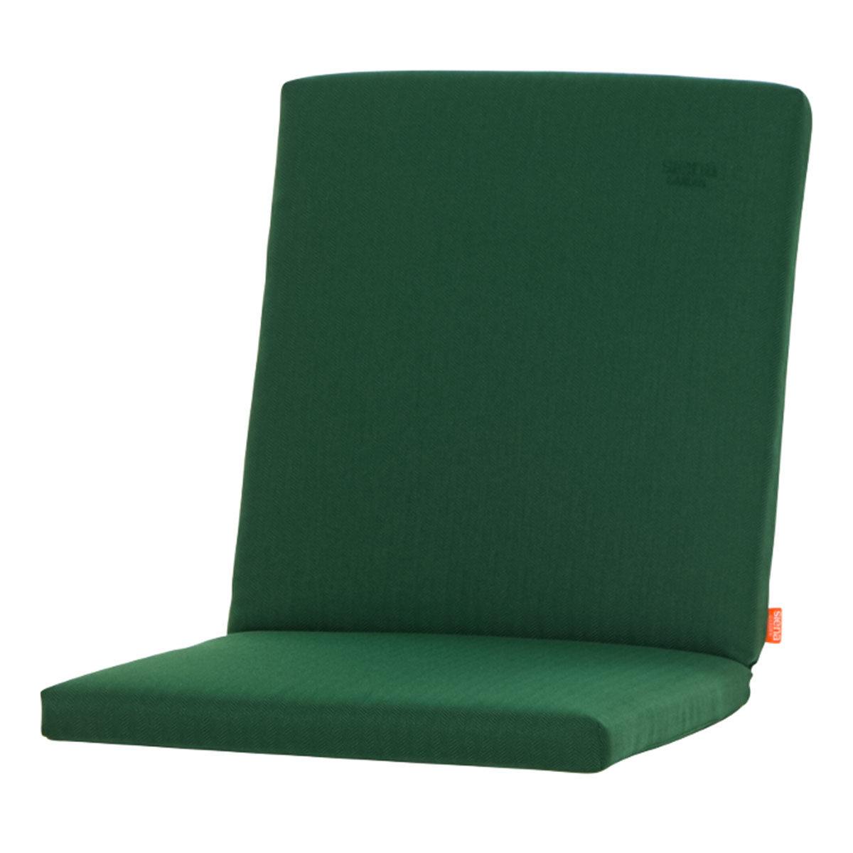 Sessel-Auflage Aster, smaragdgrün