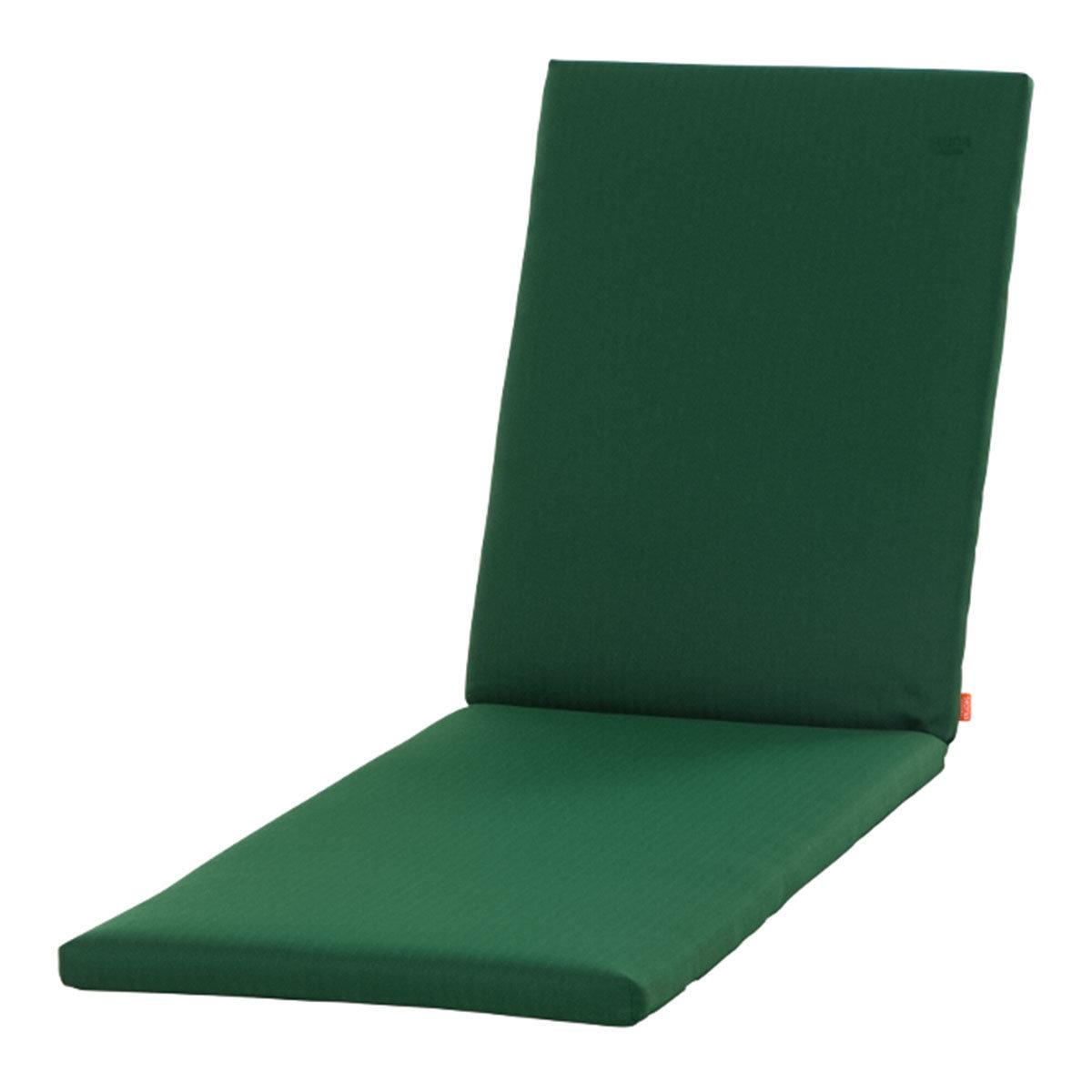Gartenliegen-Auflage Aster, smaragdgrün