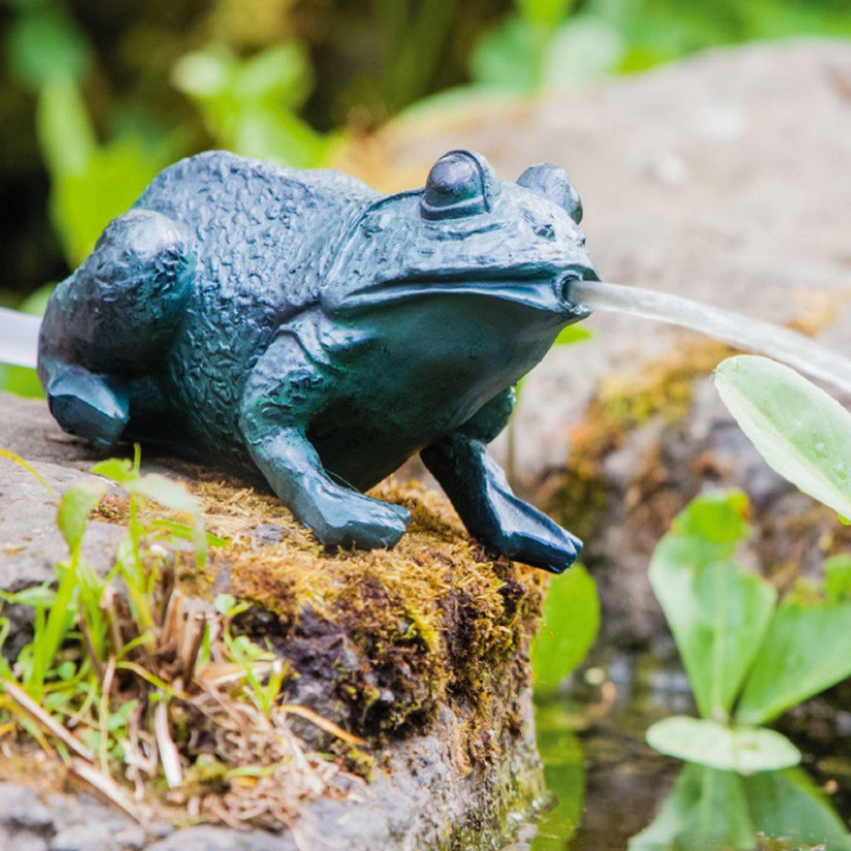 Teichfigur Frosch