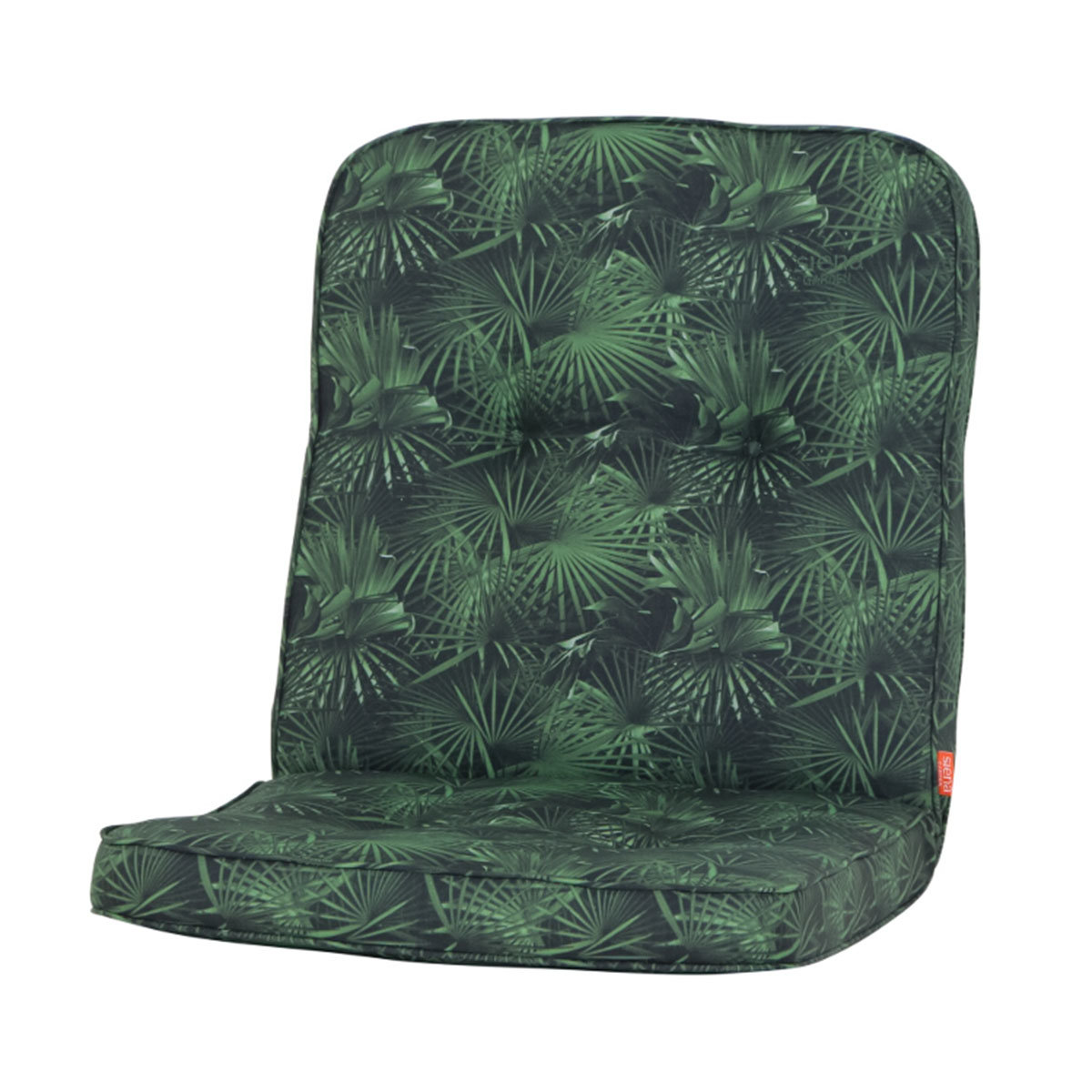 Sessel-Auflage Tarent, grüne Palme