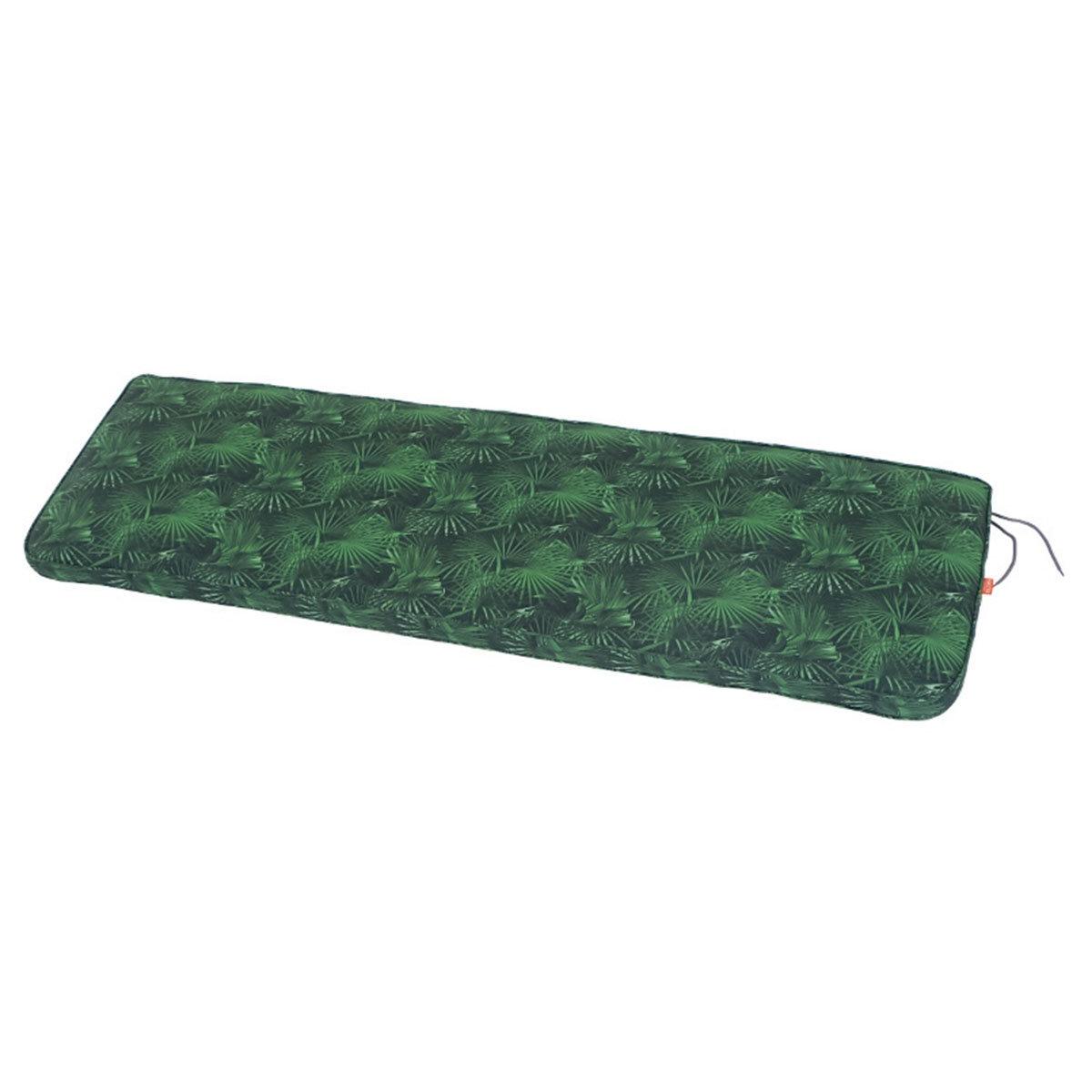 Auflage Tarent Gartenbänke, 140 cm, grüne Palme