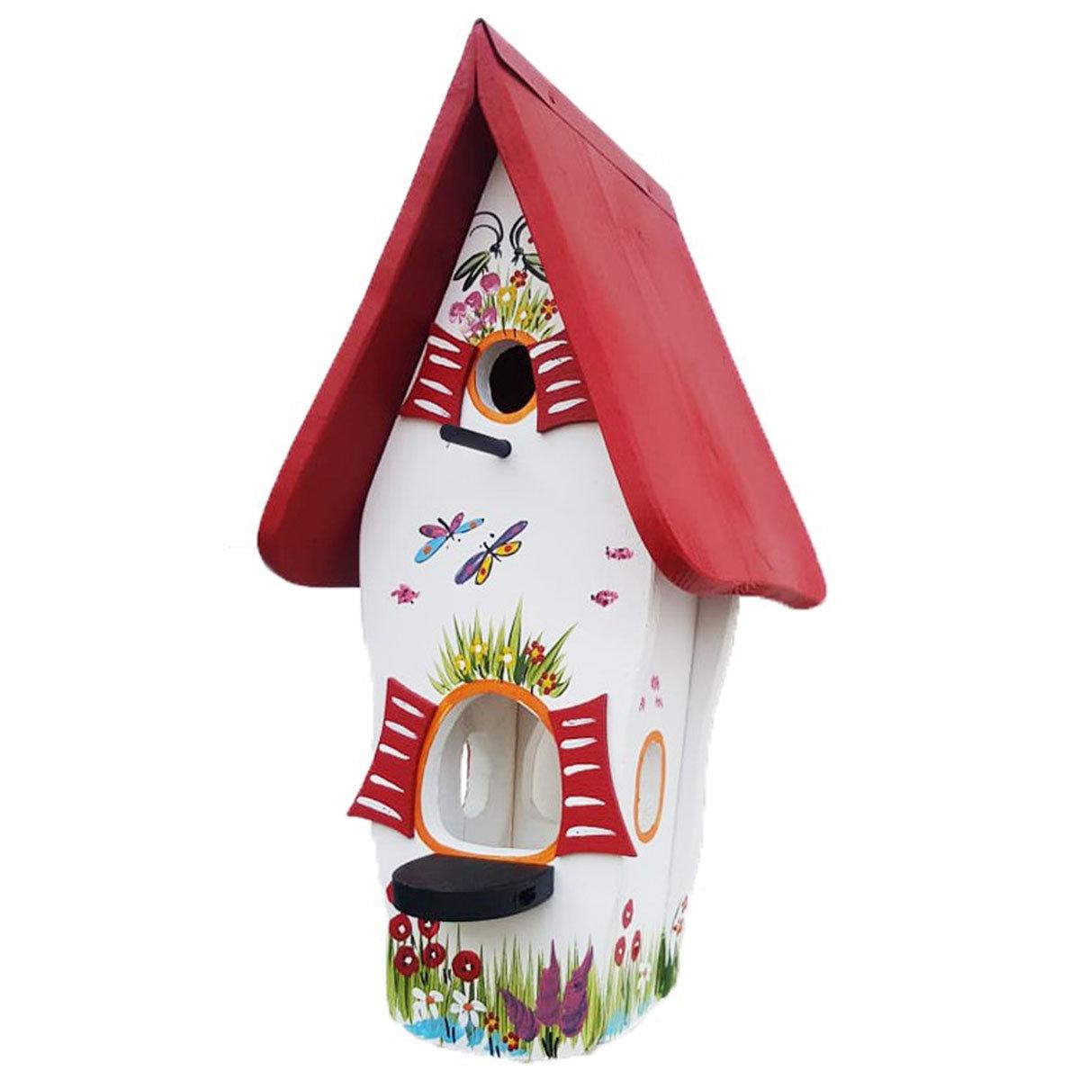 Nistkasten mit Vogelhaus Gartenzauber