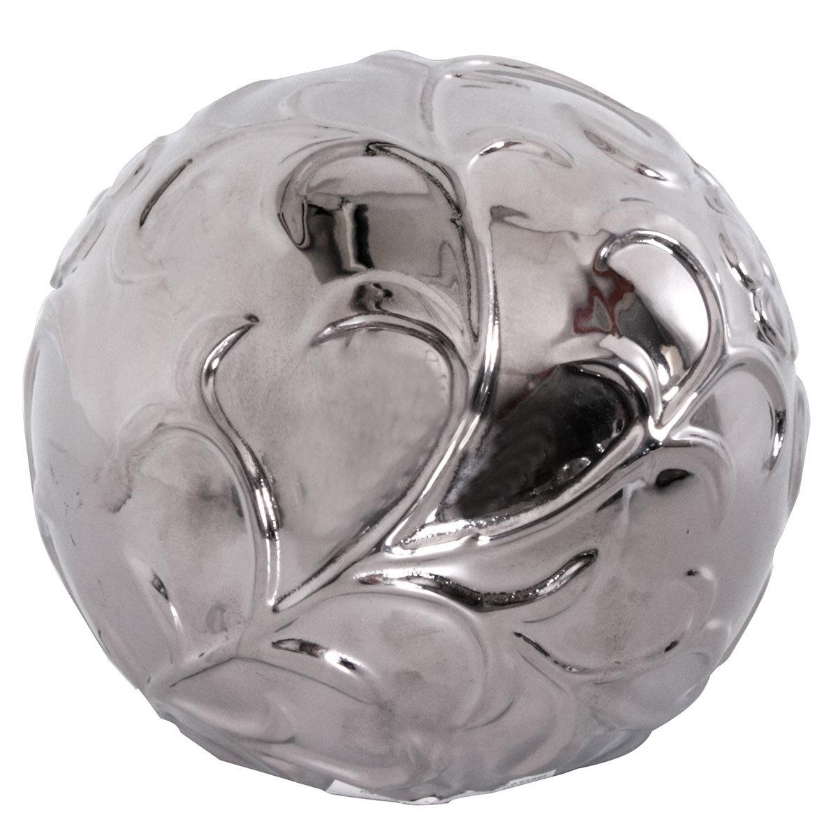 Deko-Kugel Floral, Durchmesser 14 cm