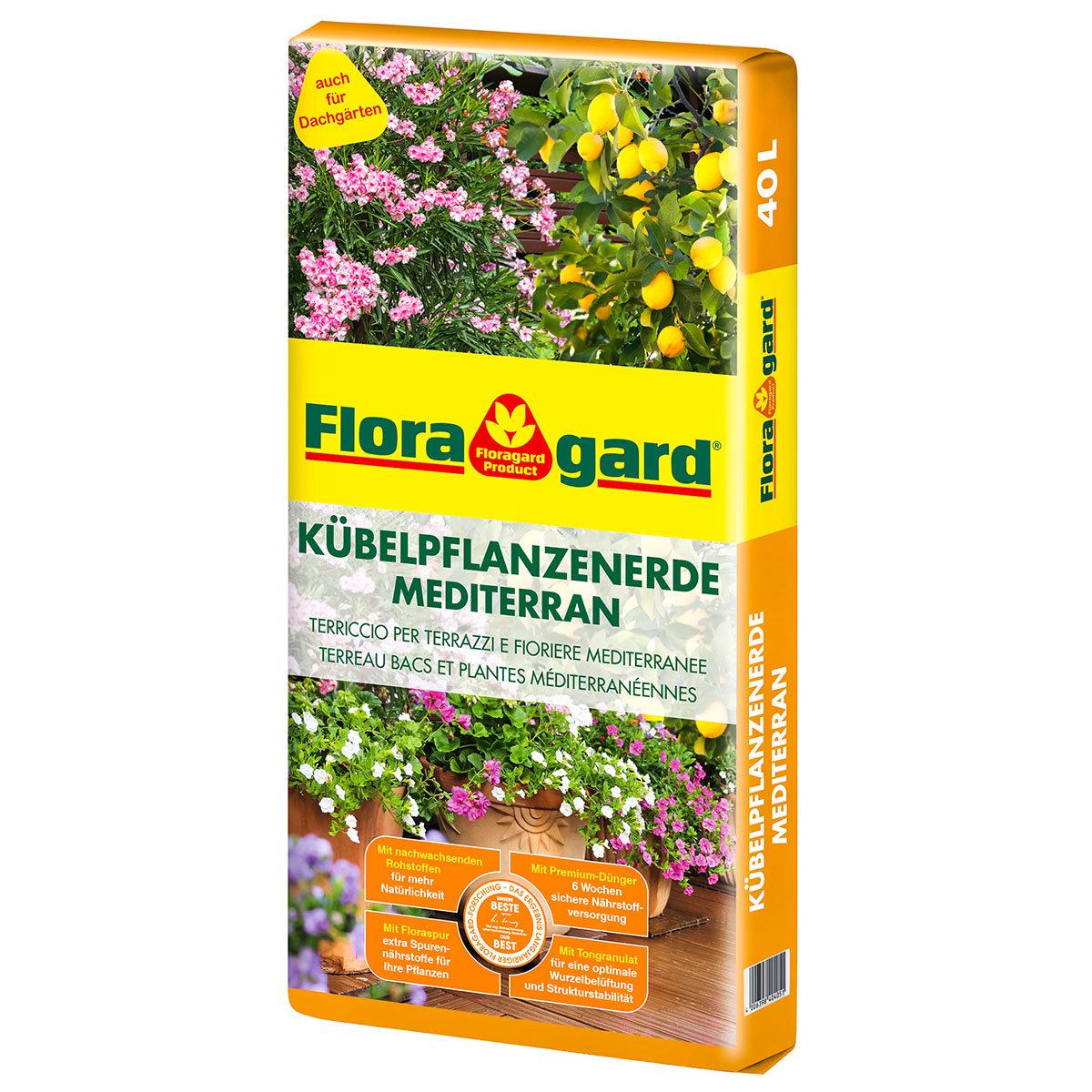 Mediterrane Kübelpflanzenerde, 40 Liter