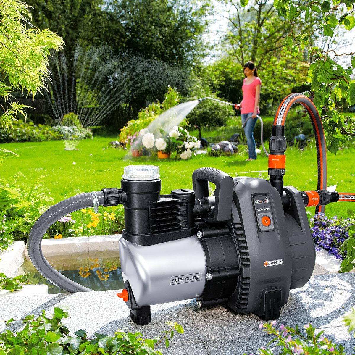 Gartenpumpe 6000/6 inox