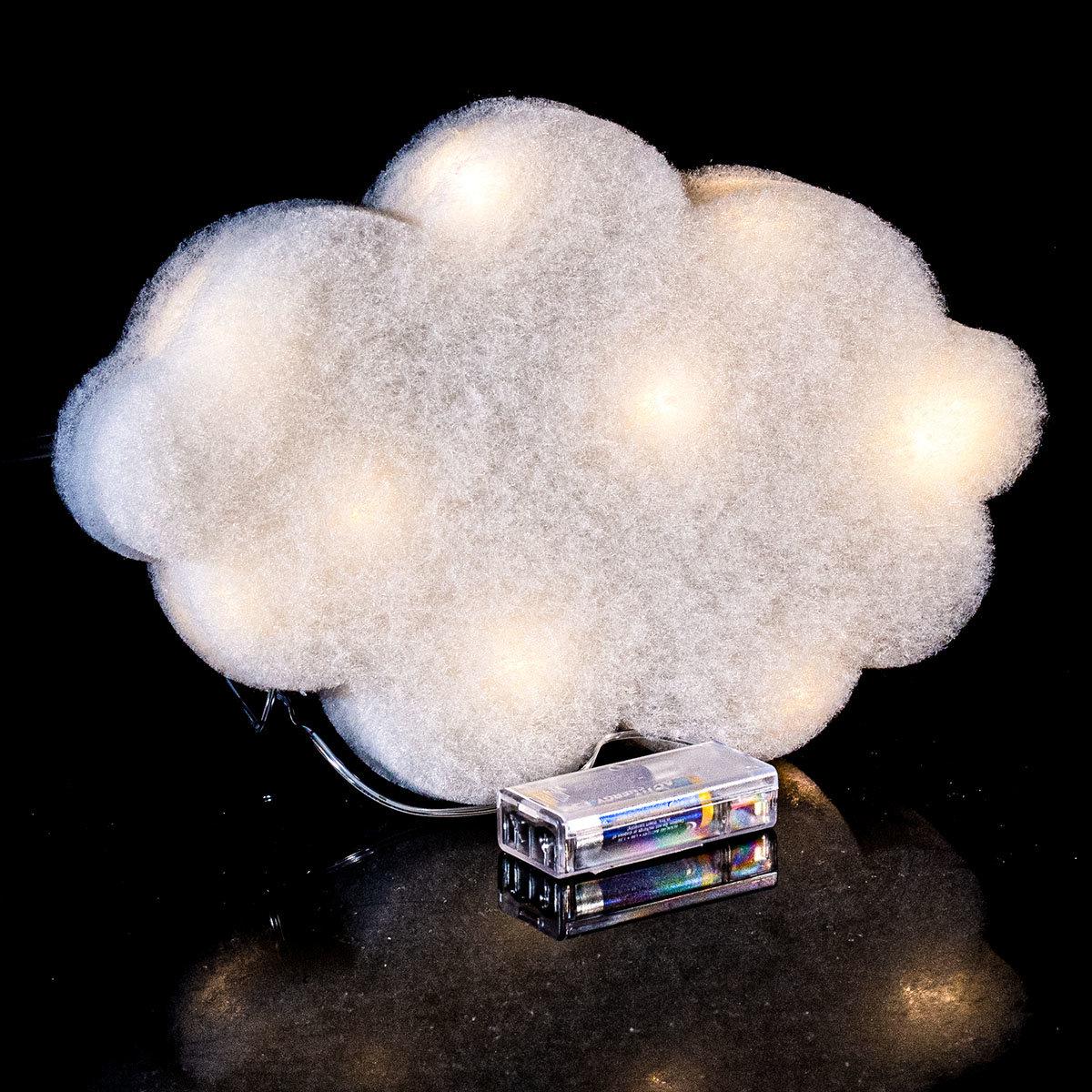 LED-Lichterkette, Wolke