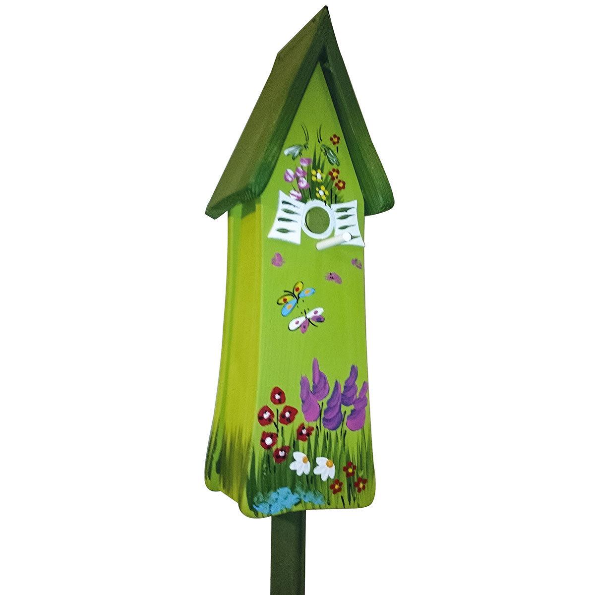 Nistkasten Nistturm Gartenzauber, grün
