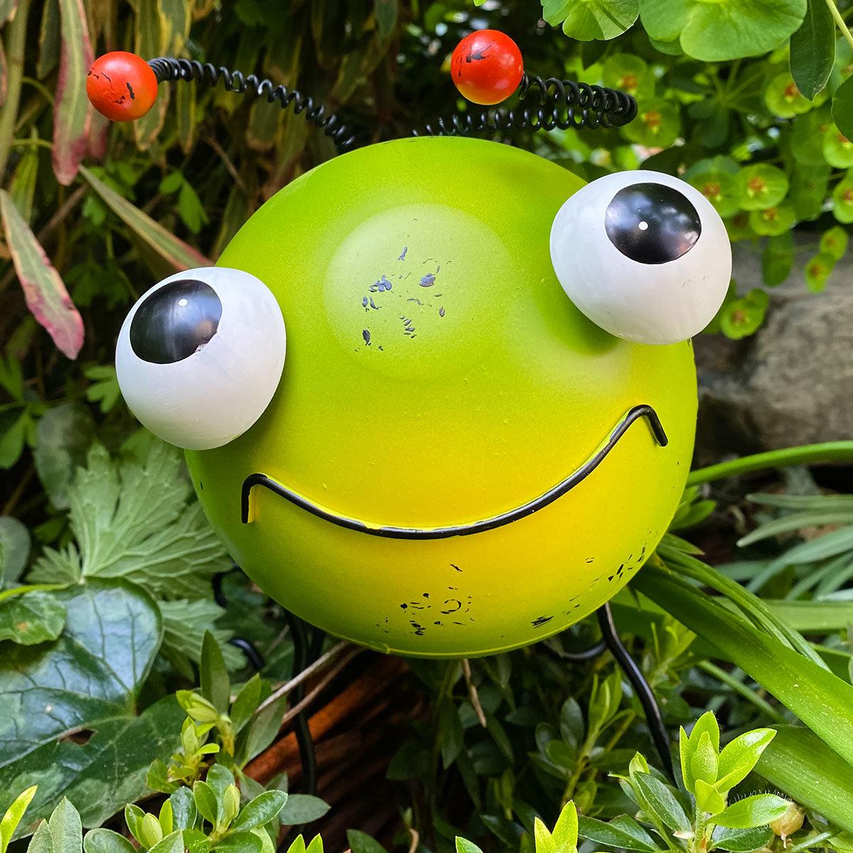 "Garten-Raupe ""Riley Smiley"""
