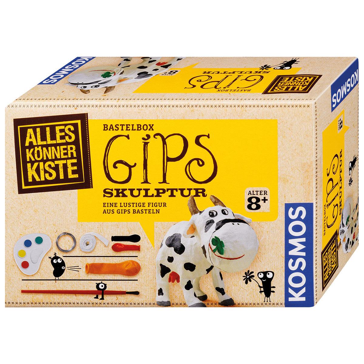 AllesKönnerKiste - Bastelbox Gips Skulpturen