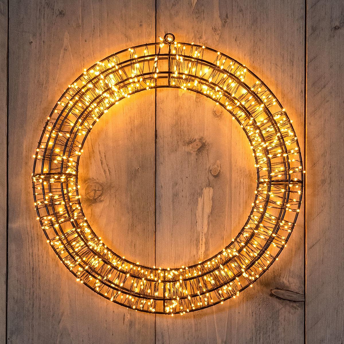 LED-Leuchtkranz, 800 LEDs, 36x5 cm, dimmbar